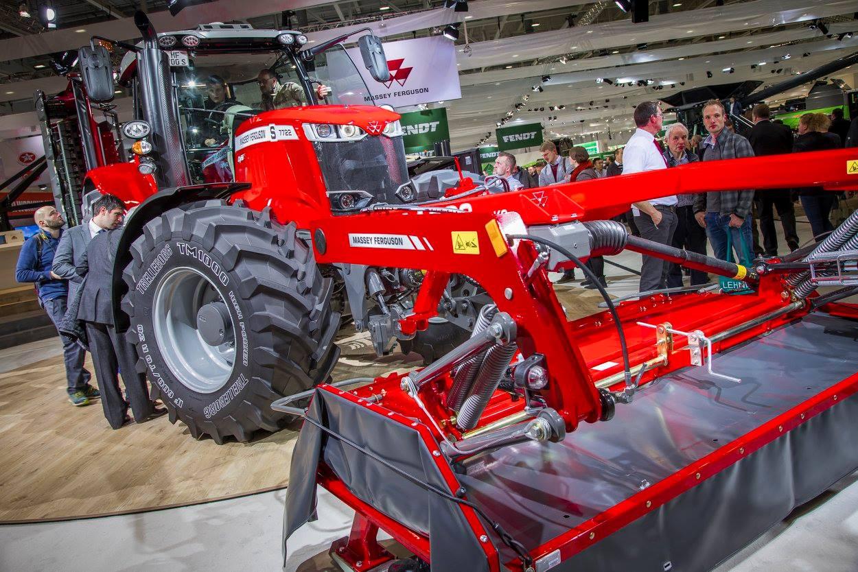Massey Ferguson technika parodoje Agritechnica 2017